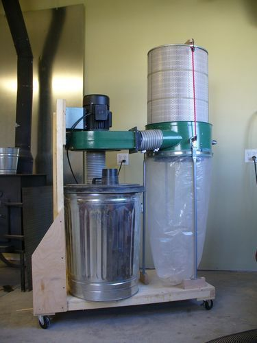 Dust Collector Harbor Freight 2 Hp Vs Grizzley 1 Hp By