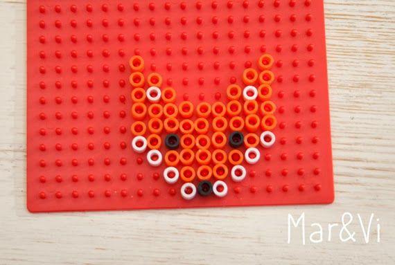 Hama Beads Imanes Diy Hama Beads Pixel Art Perler Beads