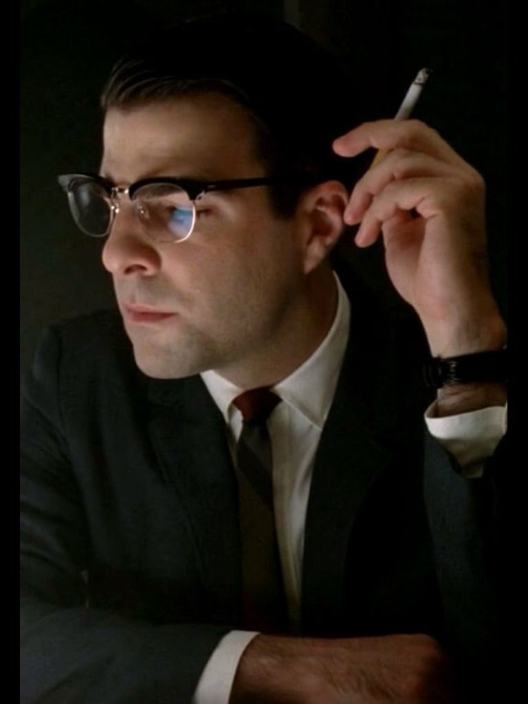 Zachary Quinto as Dr  Oliver Thresdon in AHS Asylum | Oliver