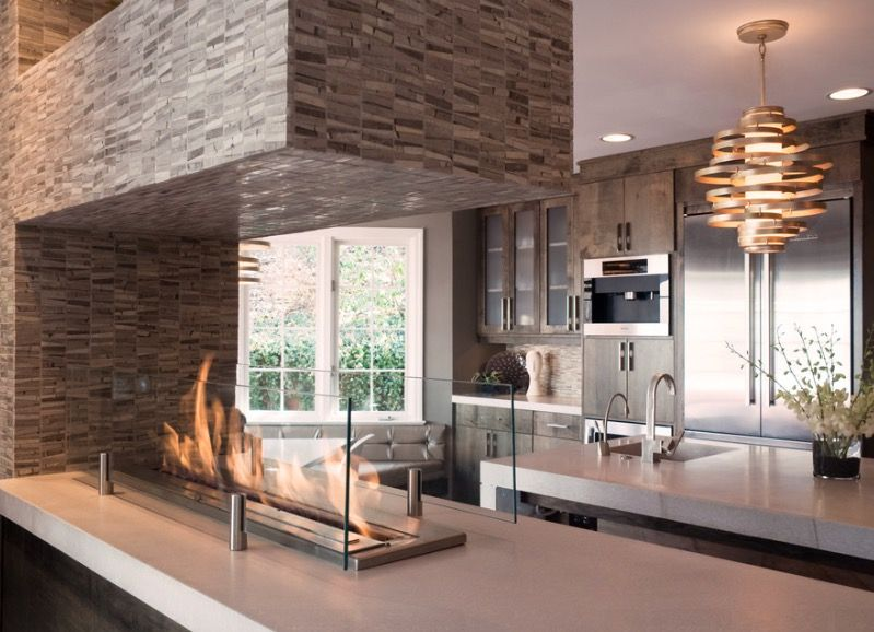 Cool Fireplace 40 hot fireplace ideas for a cool, sexy space - http://freshome