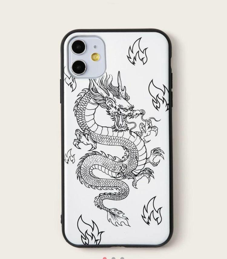 Case In A Box Dibujo De Dragon Fundas Personalizadas Iphone Fundas Moviles Fundas Para Iphone