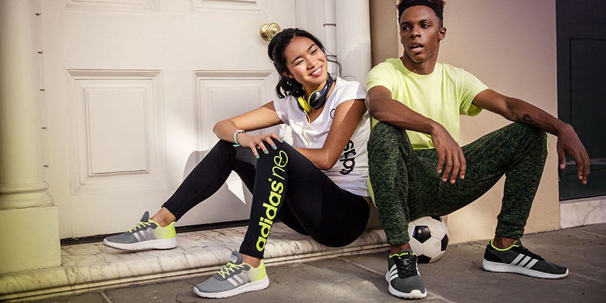 Meskie Buty Marki Adidas Charakteryzujace Sie Smukla Cholewka Wykonana W Calosci Z Przewiewnego Materialu Tekstylnego But Adidas Lite Racer Adidas Neo Adidas