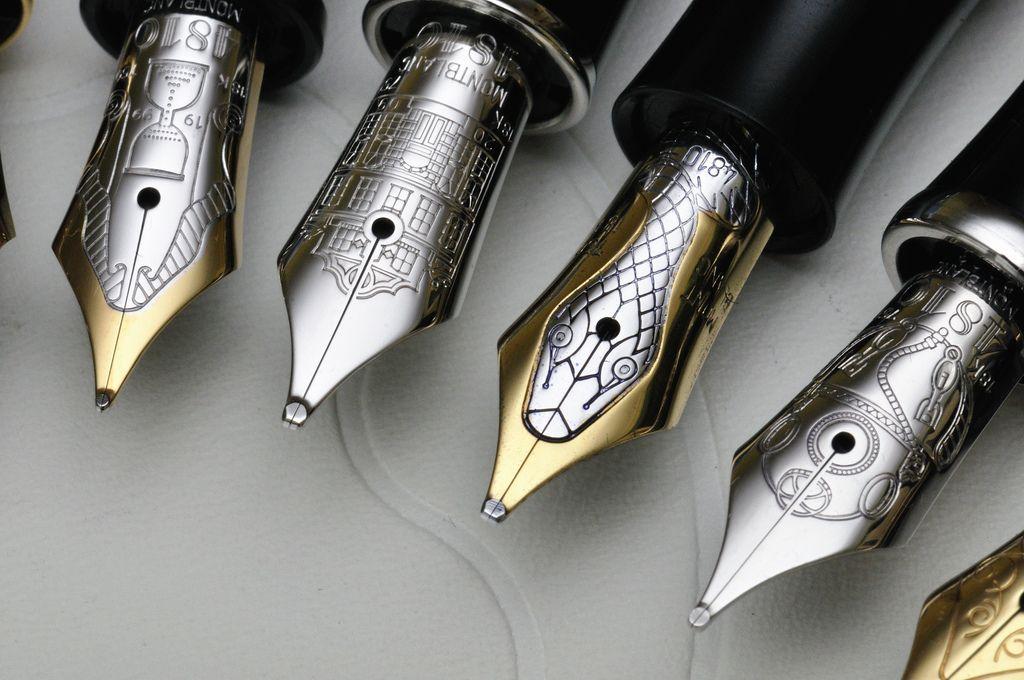 engraved fountain pen nibs