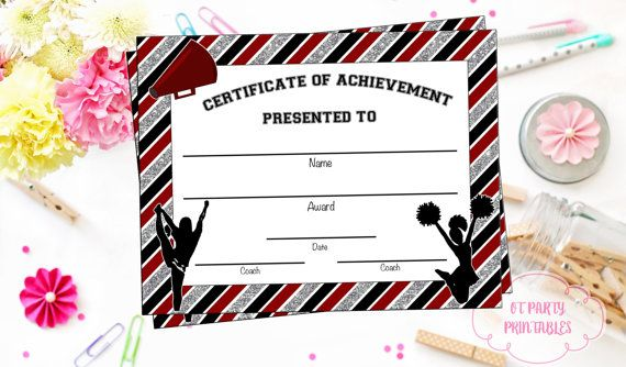 106 best cheerleading team spirit awards and favors images on instant download cheerleading certificate cheerleading award cheerleading printable cheerleading achievement end of season award yadclub Image collections