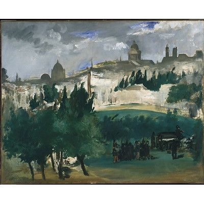 Buyenlarge Funeral By Manet By Edouard Manet Painting Print