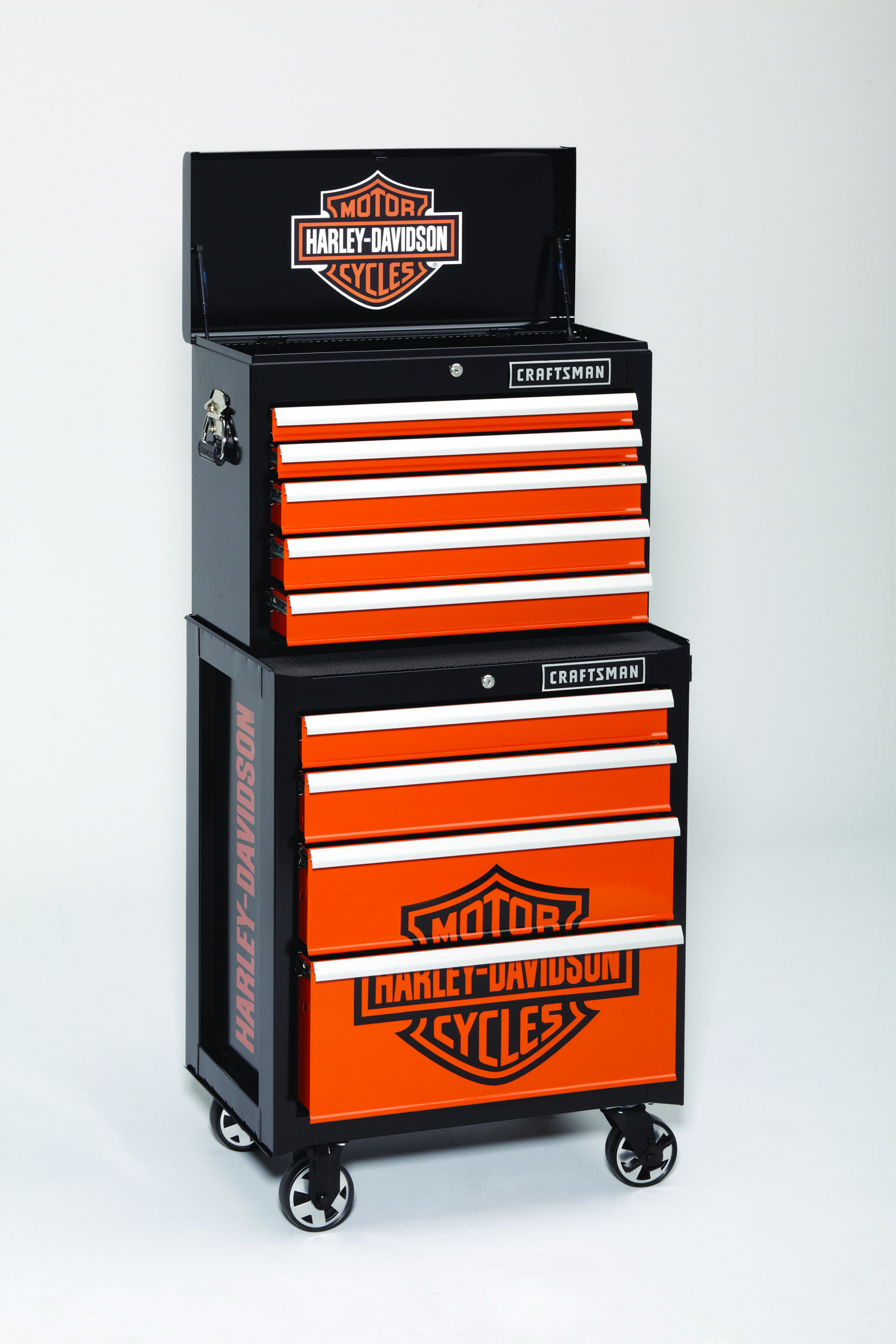 Craftsman And Harley Davidson Launch A Tool Box Storage Line