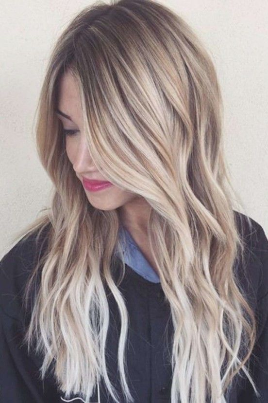 Frisuren Lange Glatte Blonde Haare | Course hair, Hair