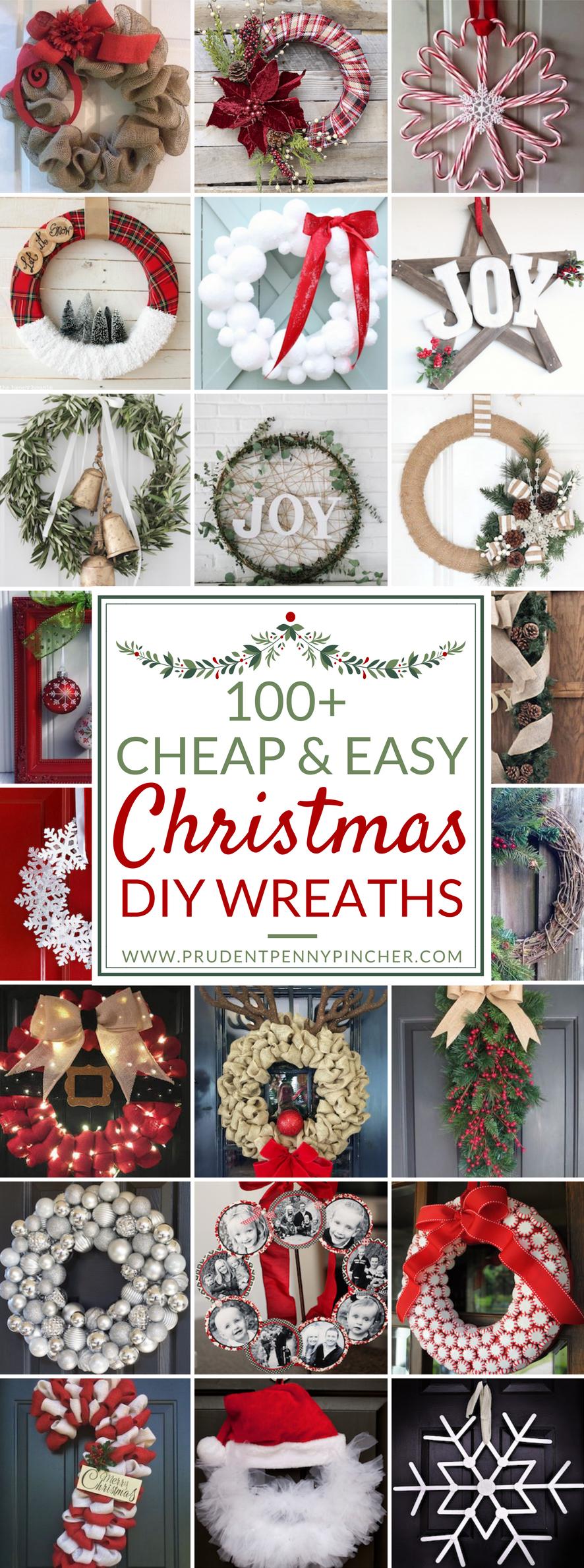 cheap and easy diy christmas wreaths diy christmas wreaths