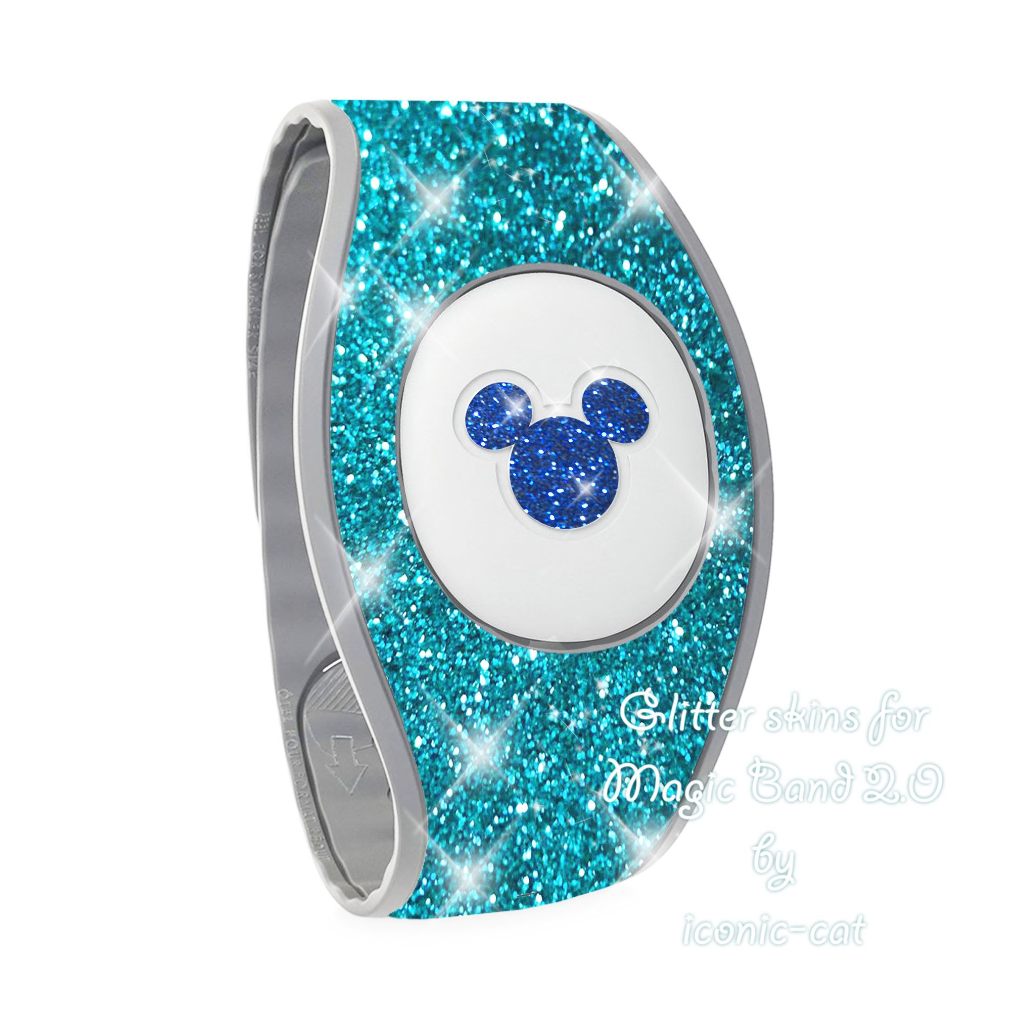 Vinyl Skin Decal Wrap Sticker Cover for the MagicBand 2.0 Magic Band Make A Wish