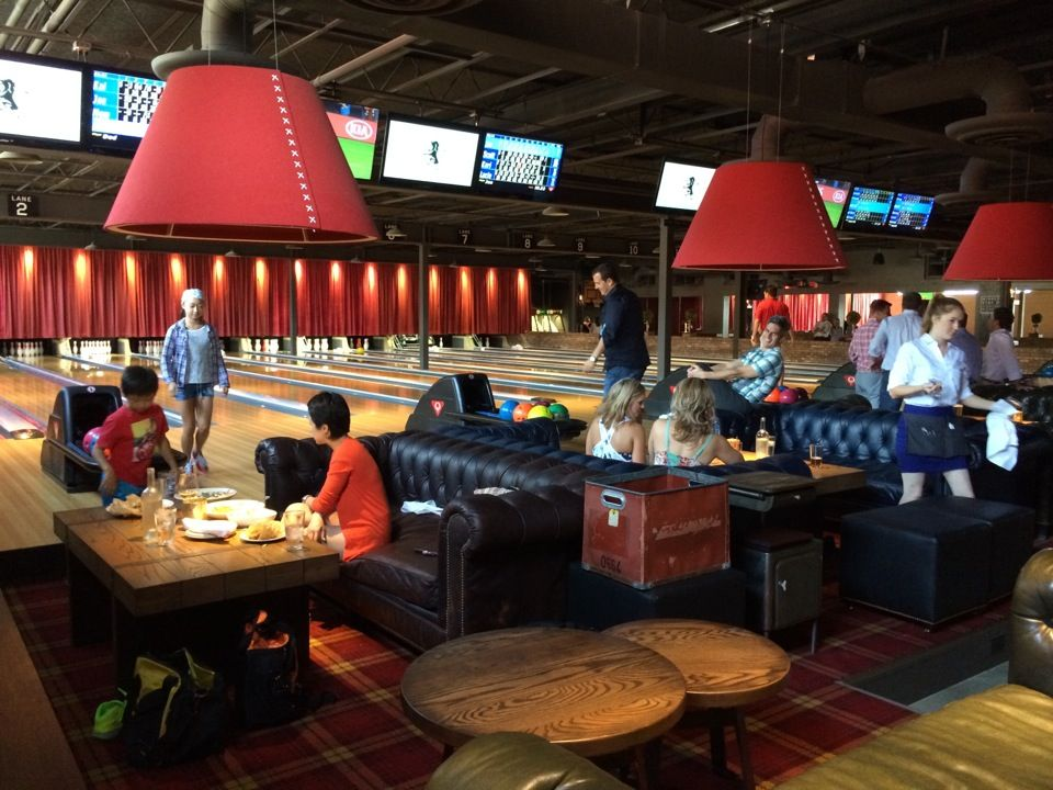 The Painted Pin in Atlanta, GA Home bowling alley