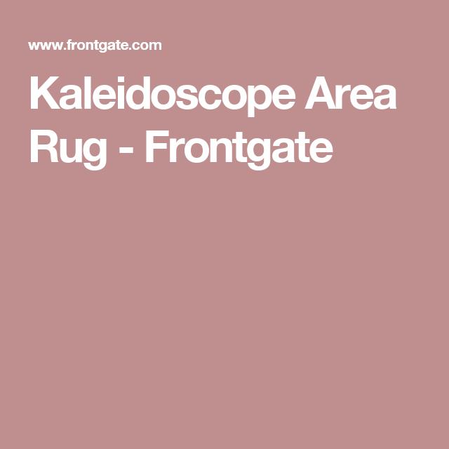 Kaleidoscope Area Rug - Frontgate