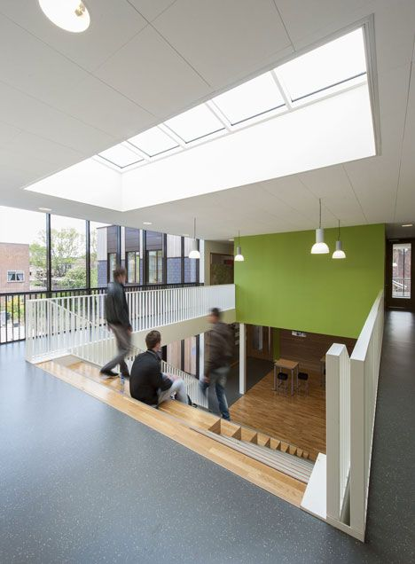 daaf geluk school by koningellis architects | innenarchitektur, Innenarchitektur ideen
