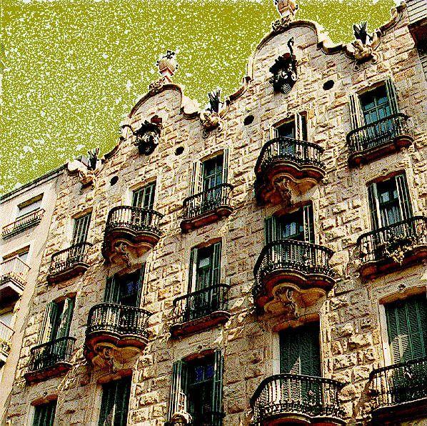 Gaudi casa calvet 1898 1900 barcelona ganadora del premio anual al mejor edificio por parte - Carpintero en barcelona ...