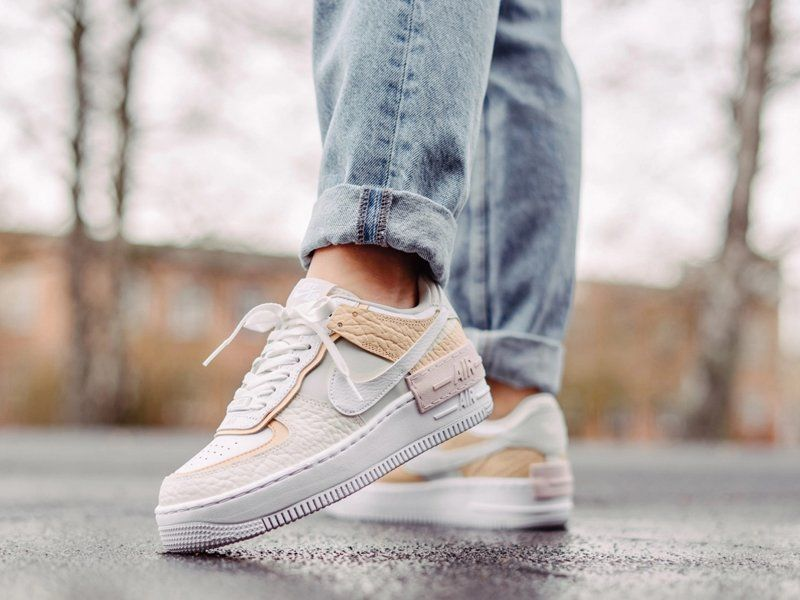 nike air force 1 donna beige
