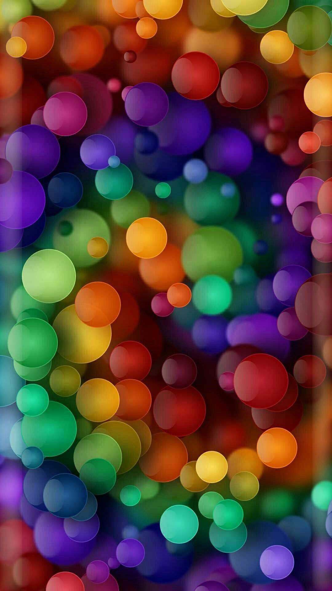 Rainbow Bubbles Background Wallpaper Smartphonewallpaper Bubbles Wallpaper Rainbow Wallpaper Colorful Wallpaper