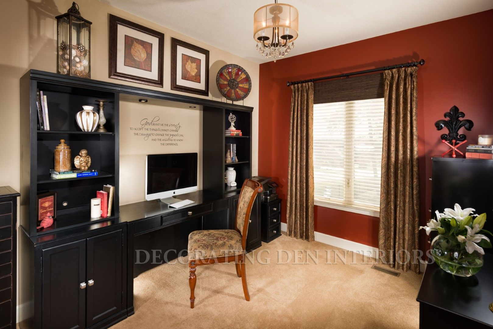 Lovely Home Office Designs By Decorating Den Interiors. Want This Look? Call Decorating  Den Interiors