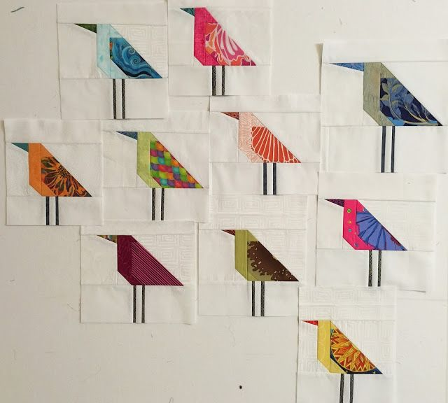 The Flock (The Patchery Menagerie) | Vogel, Muster und Inspiration