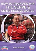 How To Train And Win The Serve Serve Receive Battle With Nabil Mardini La Volleyball Academy Pierce Col Coach Of The Year Coaching Volleyball Volleyball
