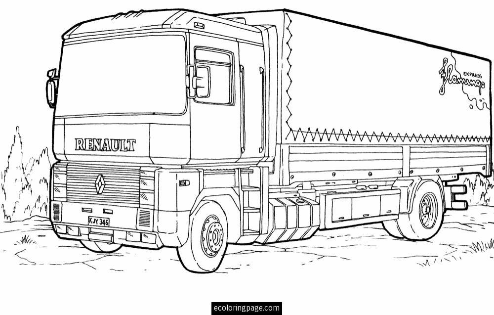 Daf Xf Kleurplaten.Mercedes Truck Coloring Sheets 10 Noah S Truck Art Truck