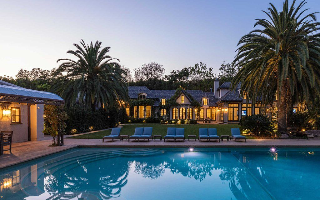 Five moviesetworthy homes currently on the la market