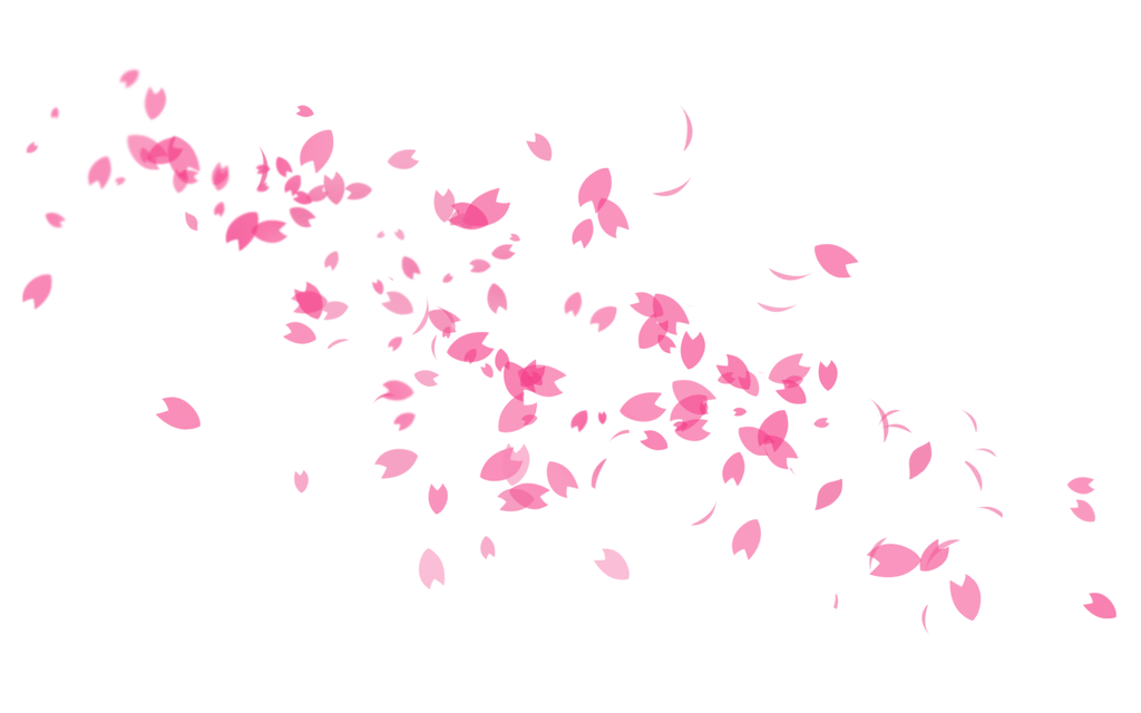 Minimalistic Pink Sakura Petals Wallpaper By Pinkykei Sakura Petals Wallpaper