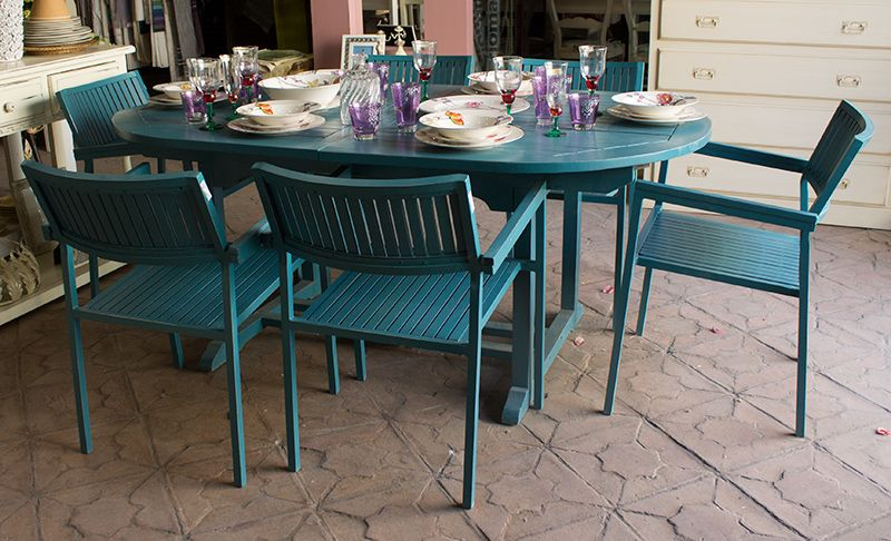 Una terraza con encanto y mucho estilo mueblesarria for Jardines con encanto