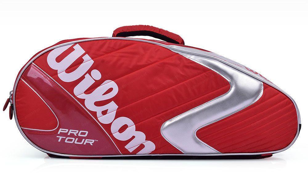 Wilson Pro Tour 6 Packs Badminton Tennis Racket Sports Backpack Red Wrz 607606 Wilson Backpack Sport Badminton Bag Sport Bag