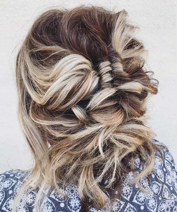 23 Most Beautiful Updo Hairstyles for Formal Events | Boho updo hairstyles, Edgy updo, Hair styles