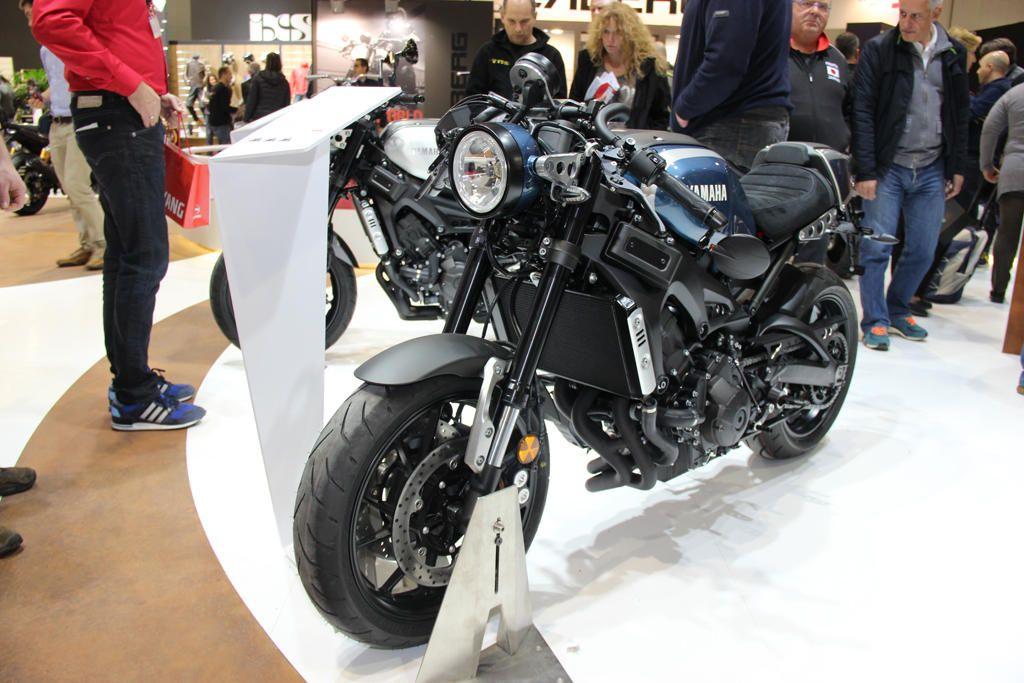 Yamaha XSR 900 Custom EICMA 2015 Neuheit 2016