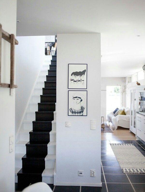 Het dijkhuisje trap verf idee n hal pinterest verf idee n - Ideeen deco trappen ...