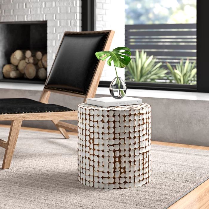 Lanai End Table In 2020 End Tables Modern Furniture Living Room Table #white #side #tables #living #room