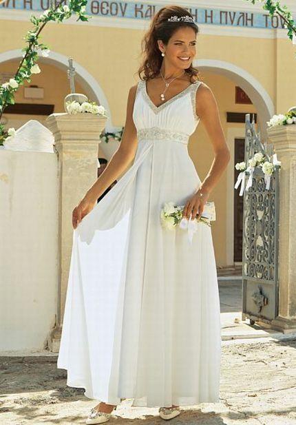 47051b1978b Свадебное платье в Греческом стиле