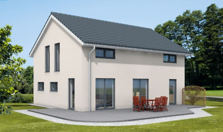 Alle 44 Hauser Auf Einen Blick Bilder Und Grundrisse Zum Vergrossern Anklicken Der Bauherr Haus Grundriss Haus Style At Home