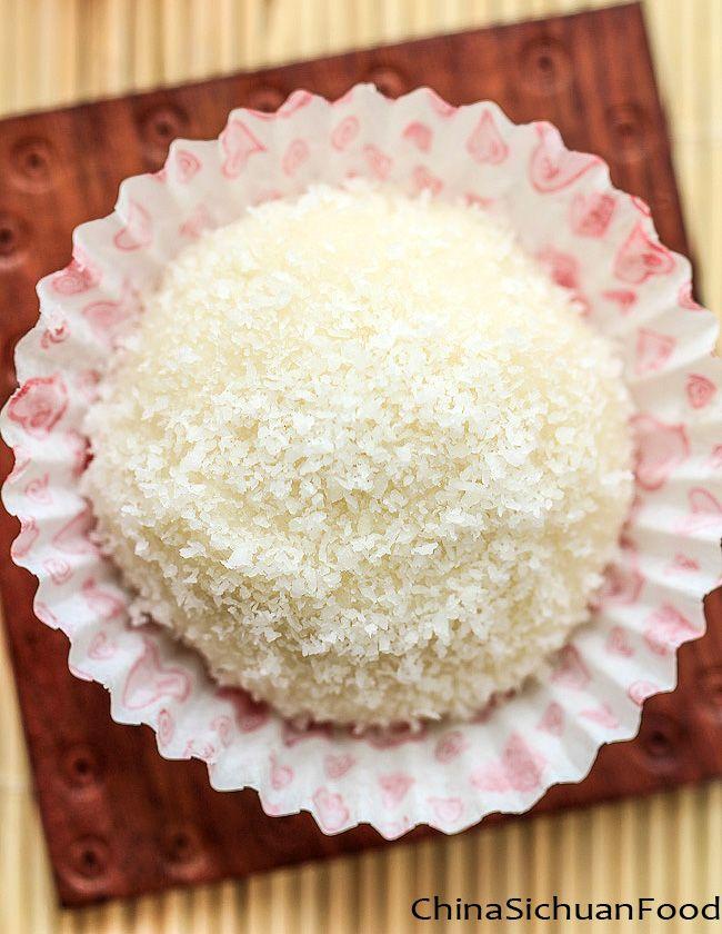Sticky Rice Cake with Coconut - Nuomichi | Recipe | Asian ...