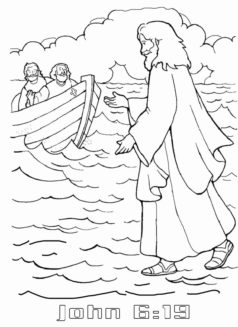 Forbidden Activities Coloring Book Fresh Coloring Book Jesus Walks Water Coloring Page Z Jesus Coloring Pages Sunday School Coloring Pages Bible Coloring Pages [ 1142 x 832 Pixel ]