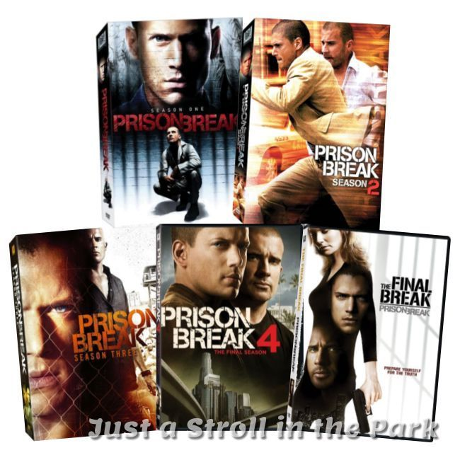 Prison Break Complete Series Season 1 2 3 4 Final Break Dvd Boxed Set S New Prison Break Prison Boxset