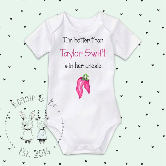 Taylor Swift Onesie Baby Girl Clothes Baby Shower Gift Cute Baby Onesies Taylor Swift Celebrity Baby Clot Unisex Baby Clothes Baby Boy Outfits Boy Outfits
