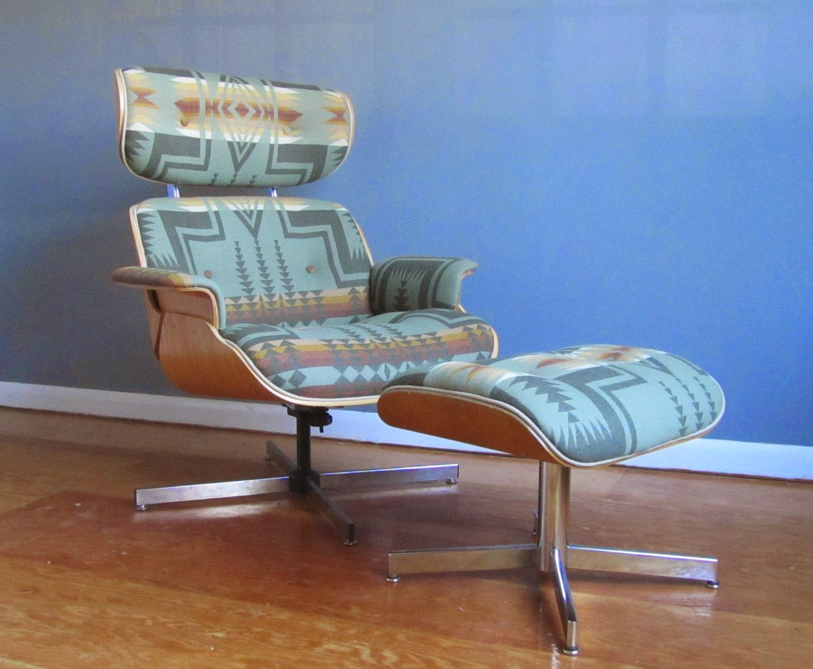 Wondrous Remnant Upholstered Eames Style Lounge Chair In Pendleton Unemploymentrelief Wooden Chair Designs For Living Room Unemploymentrelieforg