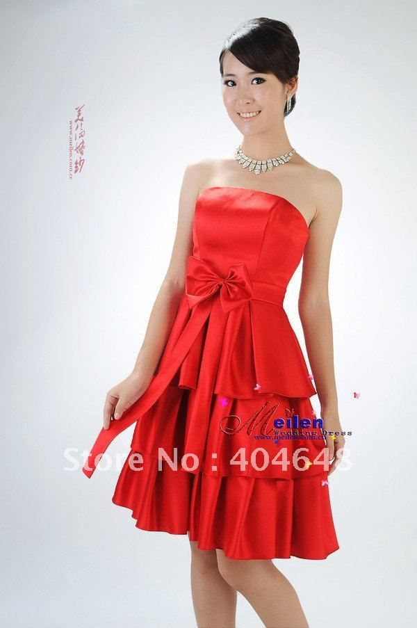 Red dress outfits 6th