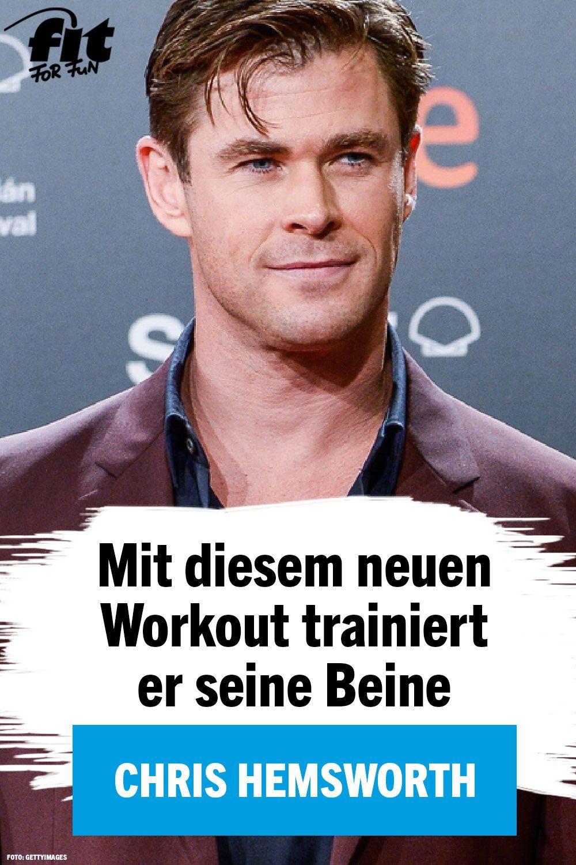 Auf Instagram Chris Hemsworths neues WorkoutVideo für