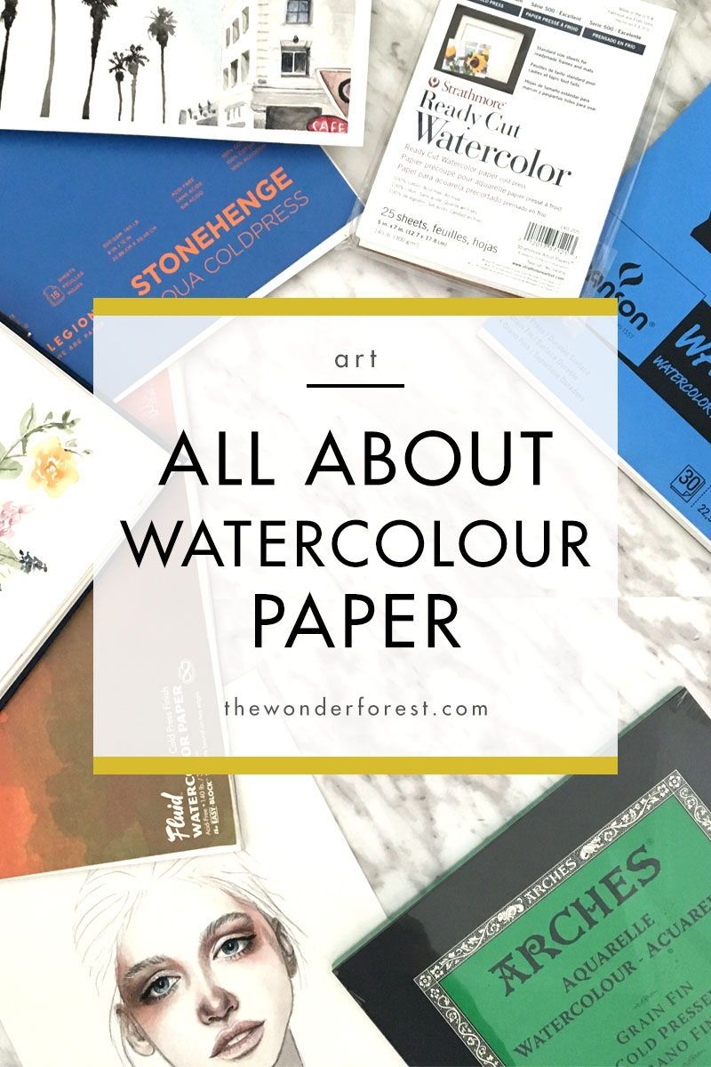 Watercolour For Beginners All About Paper Best Watercolor Paper