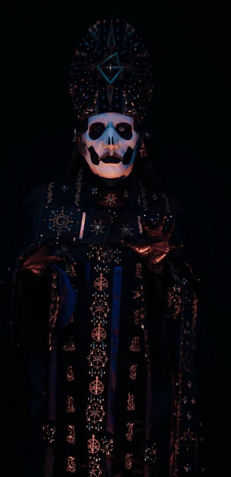 Look At The Detail On The Robe Ghost Papa Ghost Metal Band Band Ghost