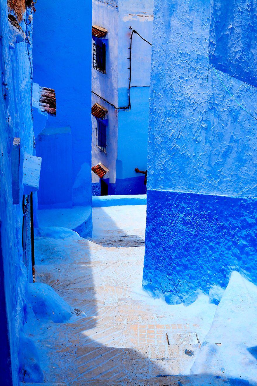 I Documented The Blue City
