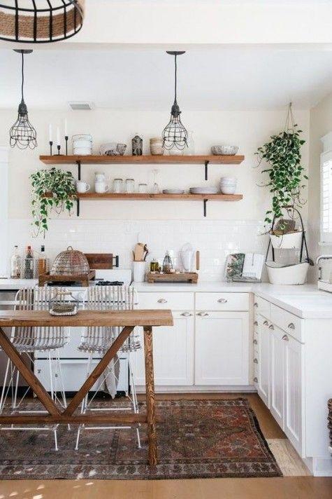 24 Cool Boho Kitchen Decor Ideas #smallkitchendecor