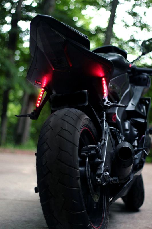 Passenger Peg Blinkers | Ride or die | Sport bikes, Custom