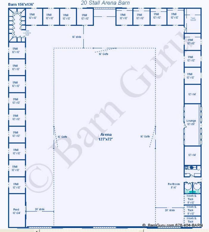 Swell 20 Stall Arena Horse Barn Design Plan Awesome Idea To Download Free Architecture Designs Scobabritishbridgeorg