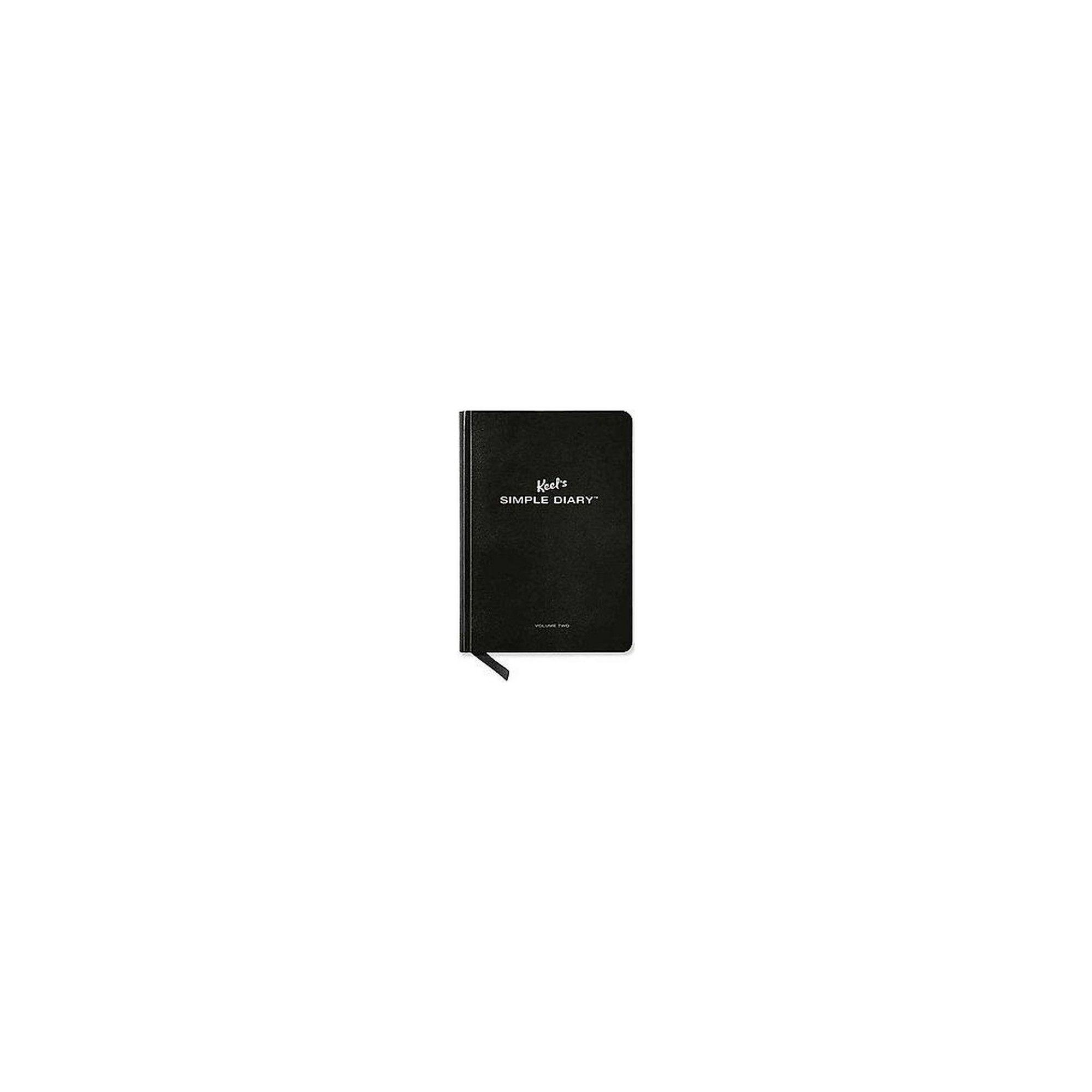 Keelus simple diary black vol paperback philipp keel