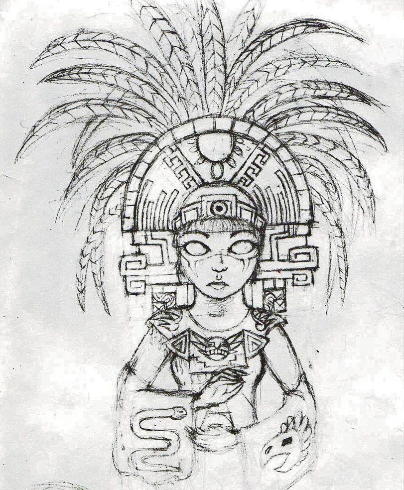 юбилейный ацтеки в картинках и рисунках узнаете, какой вид