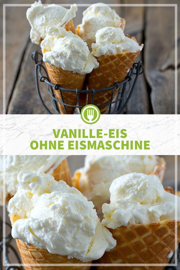 Vanille-Eis ohne Eismaschine #icecreammaker