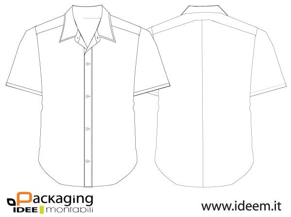 007-Shirt Vector Template Free Vector | Design Resources
